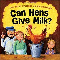 """Can Hens Give Milk?"" – Sparkling Doodles – Medium"