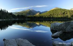 Bear Lake, Estes Park, Colorado..the water is crystal clear...breathtaking beauty
