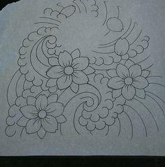 Star Outline Tattoo Quarter Sleeve Outline Tattoomaze  C B Cherry Blossom Tattoo Flower Outlines