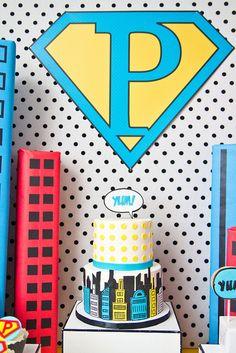 Comic Cake #pinhonest