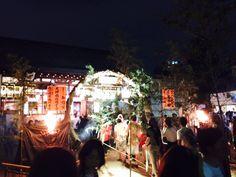 Osaka Tenmanguu shrine Tanabara festival 2014