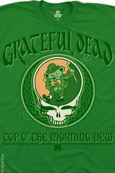 St. Patrick's Day Dead shirt