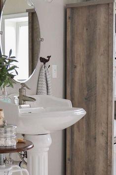 Storage For Under Pedestal Sink Pedestal Sink Storage, Sink Organizer, Sink Accessories, Diy Storage, Vanity, Home Decor, Dressing Tables, Powder Room, Vanity Set