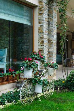 Bahçe dekor, ev dekorasyon, dış cephe dekorasyon, villa dekor.