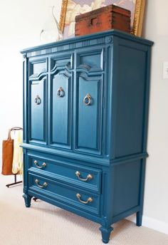 spray painting furniture, brightly painted furniture, painted