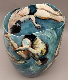Ceramics by Jitka Palmer at Studiopottery.co.uk - 2012. Diving, 2.