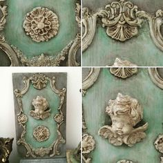 """179 Likes, 4 Comments - re•designwithprima (@redesignwithprima) on Instagram: """"Love the combination of moulds! He has such an eye for creating unique designs: #Repost…"""""""