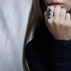 Zoe and Morgan Izra ring £175 A statement piece for sophisticated fashionista.