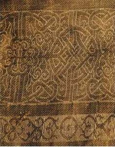 Mongol Coat fabric pattern.  From http://antiferus.net/clothing/other5.htm