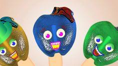 Apple ♥ Finger Family ♥ Candy Lollipops Daddy Finger Song