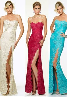 Wedding Dresses, Bridesmaid Dresses, Prom Dresses and Bridal Dresses Mori Lee Paparazzi - Style 97001 - Mori Lee Paparazzi, Spring Strapless floor length Beaded Stretch Lace evening gown with scalloped edges. Glamour, Women's Evening Dresses, Evening Outfits, Red Gowns, Designer Prom Dresses, Moda Fashion, Style Fashion, Beautiful Gowns, Special Occasion Dresses