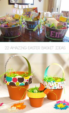 Top 15 most creative easter baskets everything from baby to dad 22 amazing easter basket ideas negle Gallery