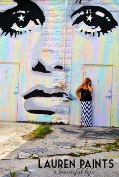 Twiggy Street Art in Downtown St Petersburg, Florida! So cool!