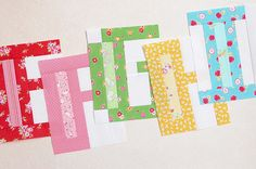 A is For Apple – Quilt Along #2