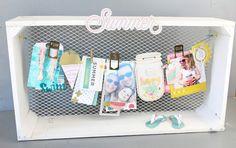 Scrap Sweet Scrap: Sommer-Dekoration mit der Poolside Kollektion von Crate Paper