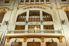 Fachada actual del Teatro Kursaal, tras su remodelacion en 2011