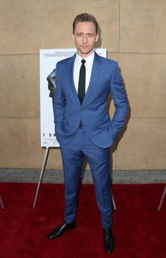 Tom Hiddleston at the I Saw The Light red carpet premiere in LA