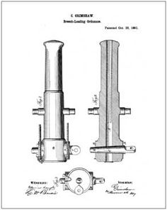 Grimshaw Cannon Patent Drawing