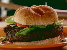 Ree's black bean burger