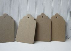 12 large tags in extra thick raw chipboard. Chipboard is not a wood product, its like cardboard. Tag size: x Chipboard is thick Chipboard, Branding, Scrapbook, Wedding Ideas, Invitations, Tags, Unique Jewelry, Handmade Gifts, Etsy