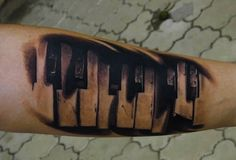Instrument Tattoos - Inked Magazine