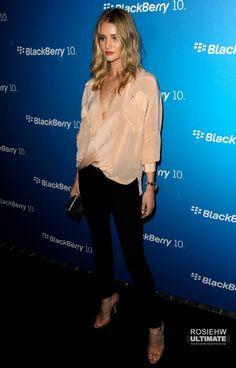 2013 > Blackberry celebrates the launch of blackberry Blackberry 10, Rosie Huntington Whiteley, Public, Celebrities, Celebs, Famous People