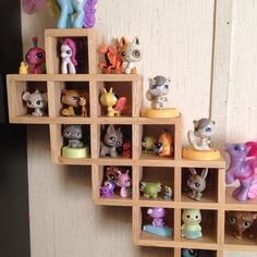 My daughter, Abby's Littlest Pet Shop Collection