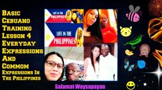 Cebuano Basic Training Lesson 4 Everyday Expressions And Common Expressions In The Philippines Love Affirmations, Months In A Year, Philippines, Encouragement, Faith, Joy, Training, Words, Quotes