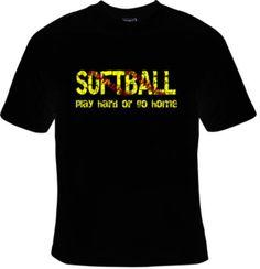 Softball T-Shirt by NashPCreations on Etsy