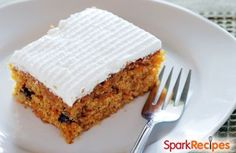 ou'd never guess that this healthy carrot cake is both low-fat and sugar-free! Feel free to substitute any nuts of your choice for the walnuts (we love it with pecans, too).