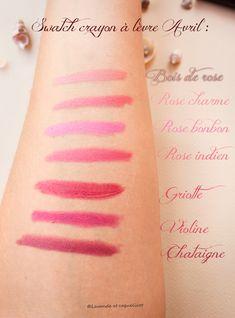 AVRIL lipstick pencil colors