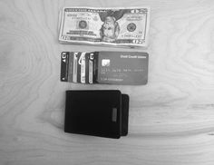 Lighten your load with the front-pocket friendly Wally Bifold. This billfold-style wallet carries up to 12 cards, plus a metal money-clip inside for all the dollar bills you're lucky enough to have on ya.
