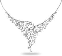 Special Design 3.45 Cts Diamond Necklace by Busra Diamond. ---------Büşra Pırlanta 3.45 Ct Pırlanta Fantazi Gerdanlık