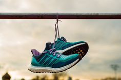adidas Performance Ultra Boost Running shoes will give you that extra edge on the track. A light, luxuriously cushioned running shoe for any pace and any distance.