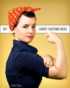 costume ideas for the ladies . diy halloween - Shrimp Salad Circus