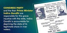 Punjab Congress - PPCC : Indira Gandhi ek war phir Punjab de against khaari !  #PollKhol