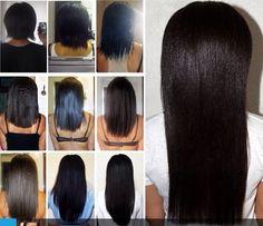 healthy relaxed hair goals on pinterest relaxed hair