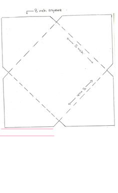 Small Envelope Template  Note The Printed Size Does Not Match