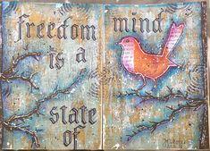jehkotar: Art journal: Freedom is a state of mind