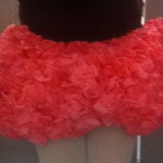 Coffee filter + food coloring + ugly short to cover up + hot glue + creativity = Adorable tutu! Thank you, Odyssey of the Mind, for giving me the opportunity to create this beauty :)