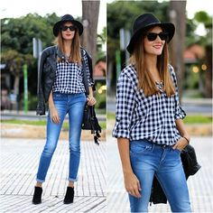 Sheinside Shirt, Zara Hat, Zara Boots