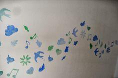 Enoah's world: sjablonen maken op je muur. Super leuk voor bijv. een kinderkamer. Stencils, Home Decor, Art, Art Background, Decoration Home, Room Decor, Kunst, Templates, Performing Arts
