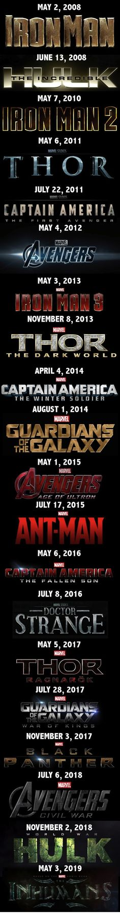 The Marvel Cinematic Universe. SO EXCITED!!!!! <<<<<< OMG OMG OMG OMG OMG OMG OMG OMG OMG!!!!!!!!!!!!! ------ASHLDJKSADHJGKLFG I......I don't.......uhhhh.......this......is...... ge-ge-geek overlo-o-o-oad...... holy....ASKLFH......crap.......I need a paper bag, I think I'm hyperventilating.......<-- oh, these comments! :)