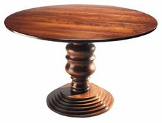 FAULD Round Pedestal Dining Table