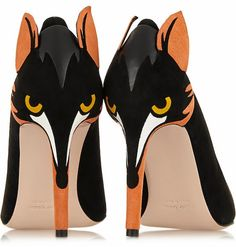 The Terrier and Lobster: The Daily Bauble: RED Valentino Fox Pumps
