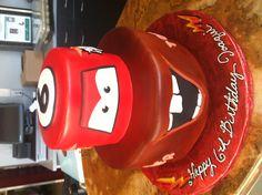 Cars cake,  I really like this one  torey