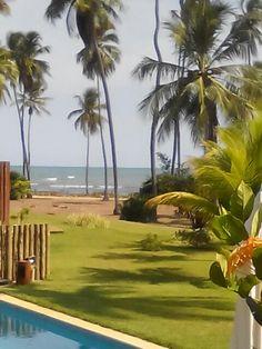 Praia do forte.