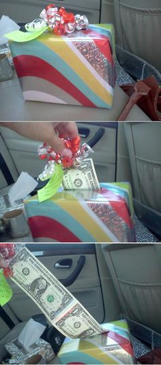 Cute way to give money as a gift