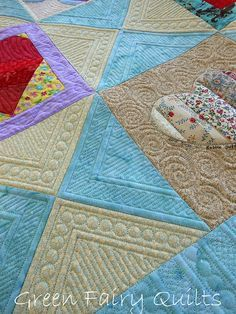 Green Fairy's incredible quilting