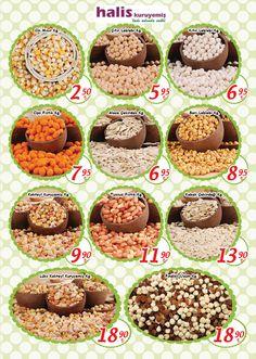 Halis Kuruyemiş ürünleri Tatbak Anadolu Yakası insert'ünde. 4-15 Mayıs tarihleri arasında geçerlidir. #haliskuruyemis #kuruyemis #tatbak #insert